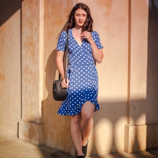 The accidental Polka dot themed Summer lookbook