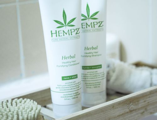 Hempz Pure Herbal Extracts shampoo and conditioner
