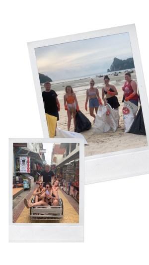 intro travel beach clean