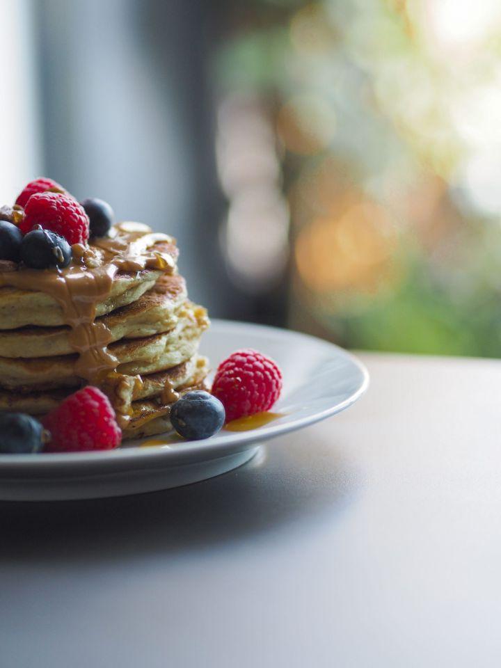 saffydixoneats fluffy pancakes