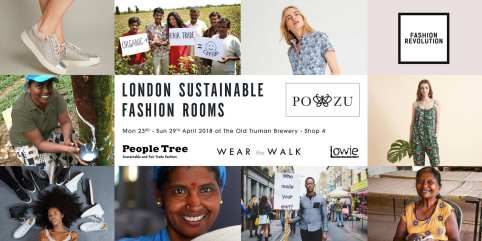 London Sustainable Fashion Rooms_poster-digital_po-zu LOGOS