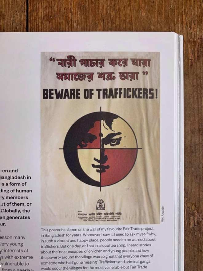 beware of traffickers