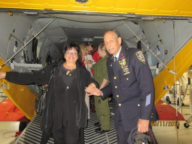 Gander helicopter joe and sonia