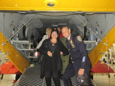 Gander visit to helicopter search and rescue