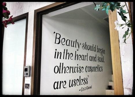 open to beauty