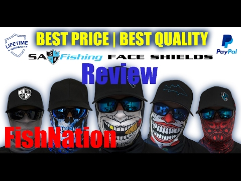Check out SA Fishing Face Shield Review