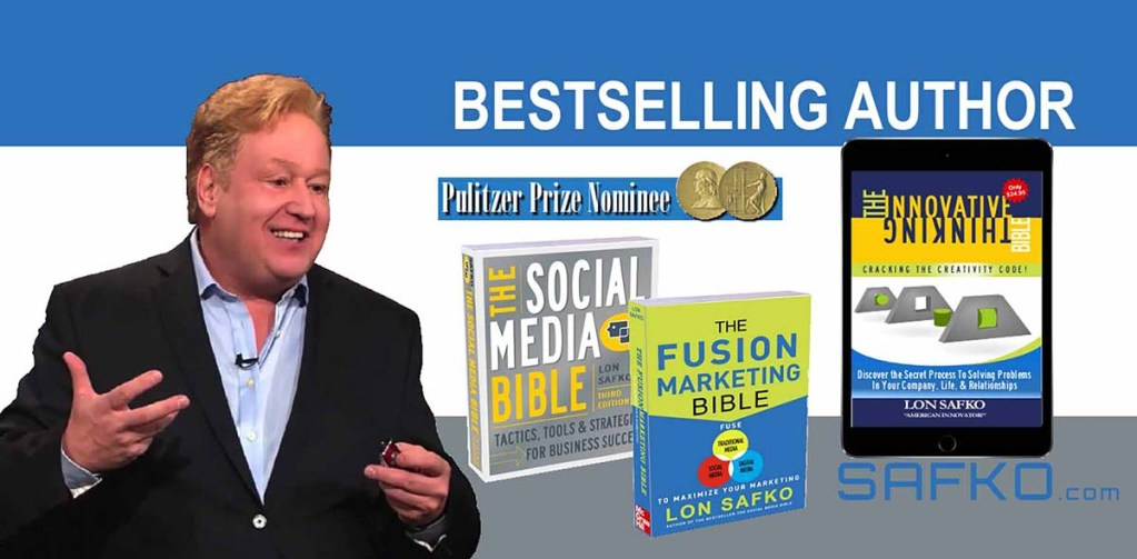 Lon Safko, Best Selling Author, Social Media Bible
