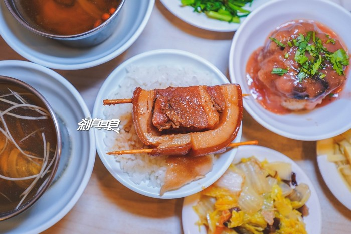 阿章爌肉飯筒仔米糕   彰化美食 40年爌肉飯老店 推爌肉飯、筒仔米糕、燉湯 (好停車/宵夜)