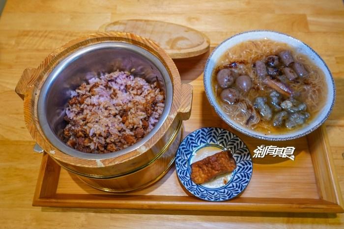 阿民古早味蚵仔麵線 | 台中永興街美食 鳥蛋蚵仔麵線、木桶滷肉飯