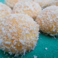 Marokkaanse kokos-jam koekjes