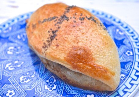 safranaargana msemmen bread filled with sumac chicken