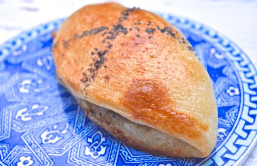 safranaargana msemmen bread filled with sumac chicken