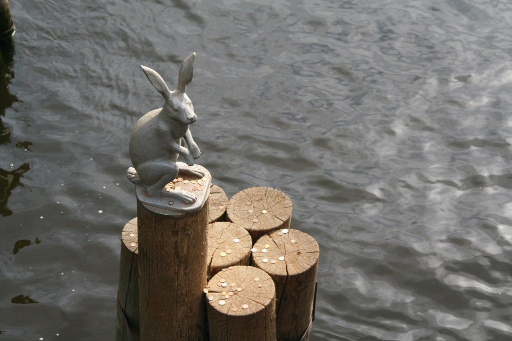 hare statue - Peter and Paul Fortress