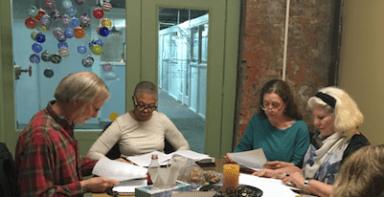 Workshop heads down