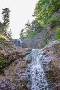 Wasserfall bei perfekten Wetter - nicht wie bei der Aufzeichnung mit Hagel.... - Foto Mathias Schweiger