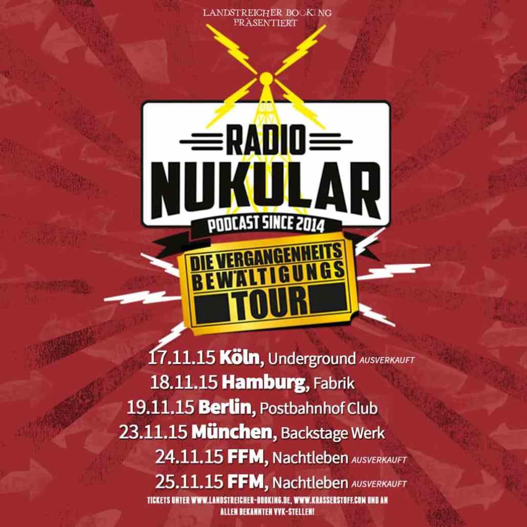 Radio Nukular auf Tour