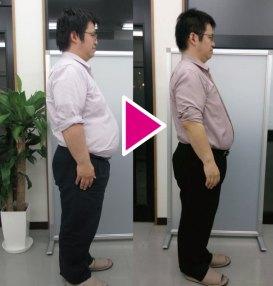 体重106.5kg→93.8kg