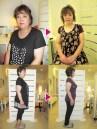 体重75.8kg→62.6kg 体脂肪44.4%→35.8%