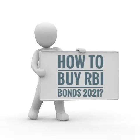 How to buy RBI Bonds 2021?