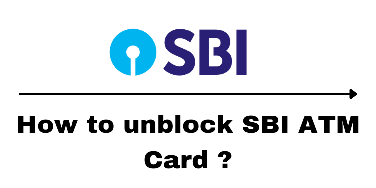 How to unblock sbi atm card 2021