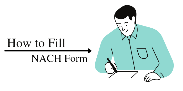 how to fill nach from