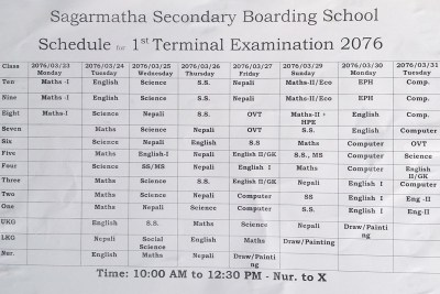 Sagarmatha Secondary Boarding School