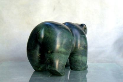 Bear sculpture, hand carved large size figurine