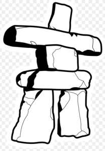 stone figurine logo