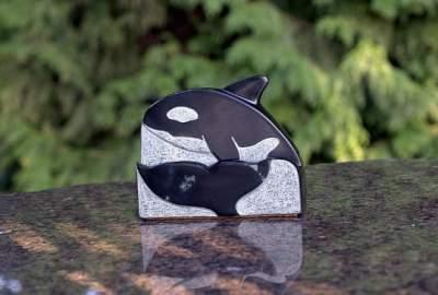 Orca card holder