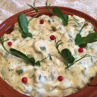 Salata de dovlecei cu maioneza
