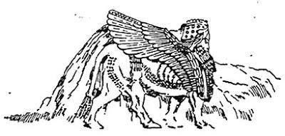 Esfinge assíria