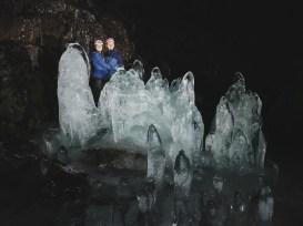 Underground Ice Sculptures