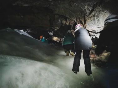 Inside Lofthellir Cave