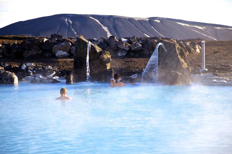 Nature Baths via Lake Myvatn Tour from Akureyri