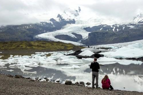A Glacier Lagoon