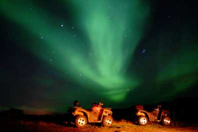 ATV Northern Lights Ride