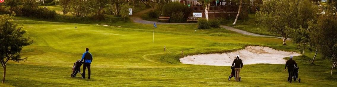 Jaðar Golf Course in Akureyri