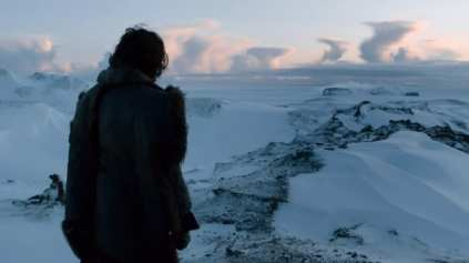 Jon Snow at the Fist of the First Men