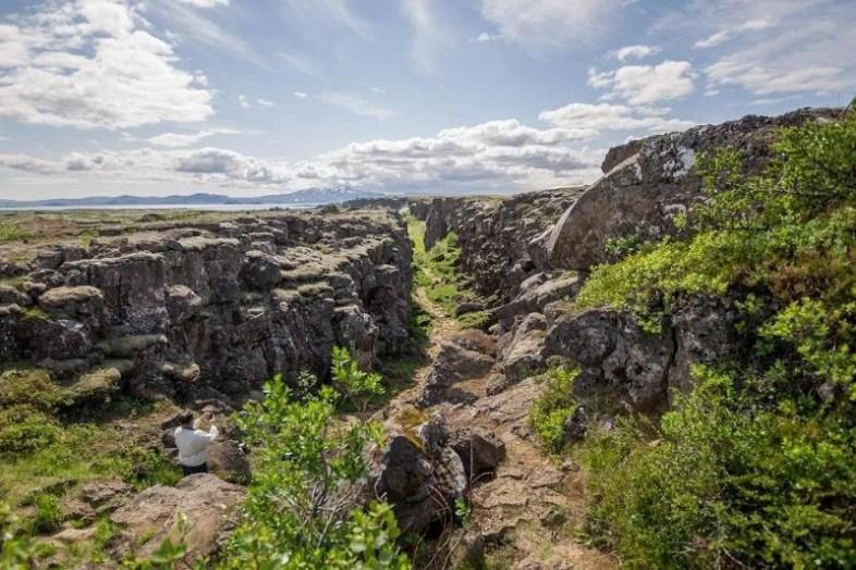 Þingvellir National Park served as a location for Game of Thrones