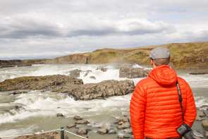 We can stop at Urriðafoss Waterfall, if you like
