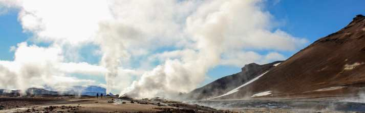 Hverir by Mt. Namafjall via Lake Myvatn Tour from Akureyri
