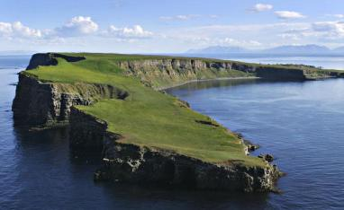 Puffins in Grimsey and beyond the arctic circle