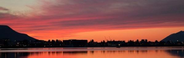 Akureyri in the Midnight Sun