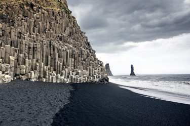 Reynisfjara the Black sand beach