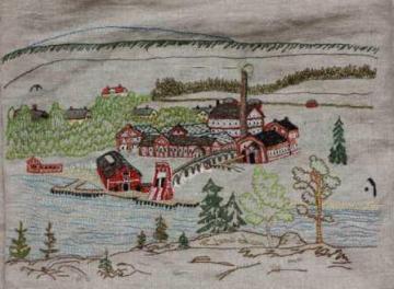 Domsjö ångsåg Köpingen Örnsköldsvik kom att bli centrum i ett stort sågverksdistrikt som fick en blomstrande utveckling på 1870 — 90-talen. Ångsågen hade stor kapacitet och när man inte längre var beroende av älvarnas vattenkraft blev det möjligt att såga året om. 1865 anlades Domsjö ångsåg och sedan växte en rad ångsågar upp kring Örnsköldsviksfjärden. Örnsköldsvik blev huvudort för detaljhandel, undervisning och bankväsen.
