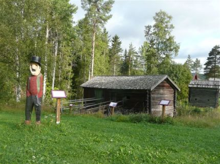 Sagostigen vid Anundsjö Hembygdsgård