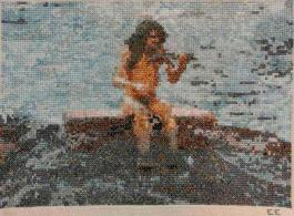 Näcken i Rönnäs Näcken, Strömkarlen eller Älven är ett övernaturligt väsen som ofta gestaltas som en naken man sittandes i vattnet spelande fiol. Enligt gammal folktro, med många lokala variationer, lockar näcken genom sitt spelande människor att gå ner i vatten och drunkna. Näcken finns framför allt i åar, forsar och sjöar. Han har olika namn beroende på var i Sverige han är, men berättelser om honom finns över hela landet i en mängd lokala variationer.
