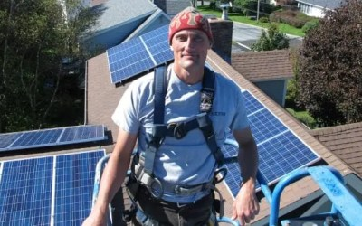 'I've got the sun above me': How to power your home with renewable energy