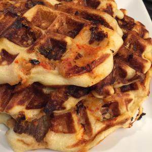 Kimchi Waffles