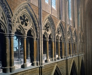 Westminster Abbey Triforium interior